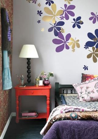 Ferm Living Flora - Wallsticker
