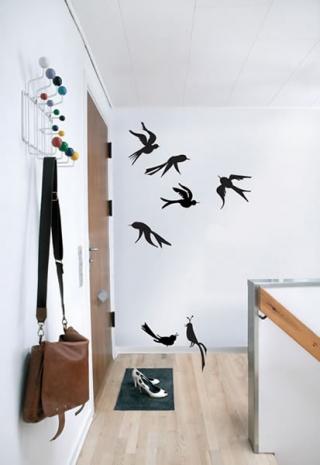 Ferm Living Birds - Wallsticker