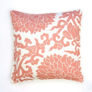 Blossom Cushion - Shell