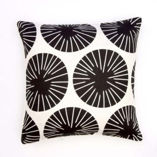 Dervish Cushion - Ebony