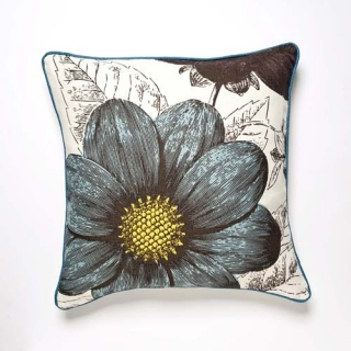 Botany Aqua Cushion