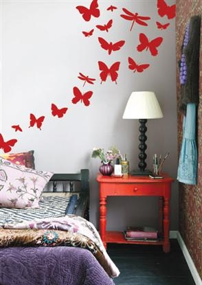 Ferm Living Butterflies - Wallsticker