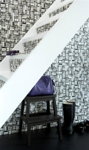 Dimensions Collection, Balcony Wallpaper (2616-2622) by Danko Design