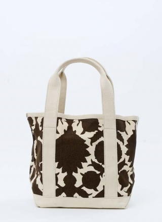 Small Tote Bag Flock - Brown