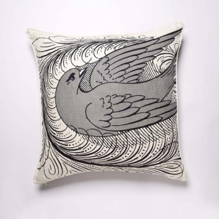 Florish Cushion - Dove