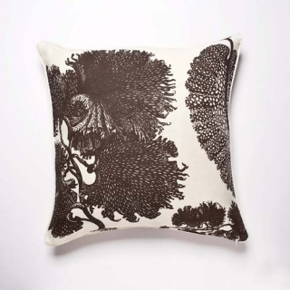Reef Cushion - Mocha