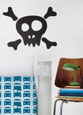 Skull Wallsticker