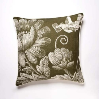 Stitch Cushion - Lichen