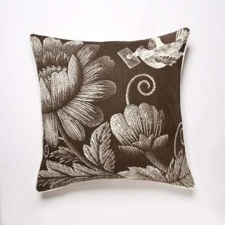 Stich Cushion - Mocha