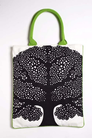 Tree Tote - Yellow