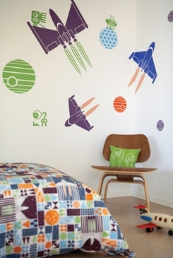 Boodalee Space Wall Graphics