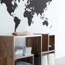 Ferm Living World Map - Wallsticker