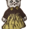 "Miss Kitty (10""H) - Yellow"