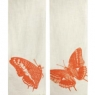 "Cotton Gauze Scarf - Flutter (12""x72"") - Orange"