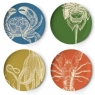 Sea Life - Set of 4 Dinner Plates