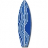 Surfboard Squiggle - Blue