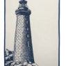 Lighthouse (47cm x 70cm) - Denim