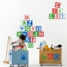 Baby Blocks Wallsticker
