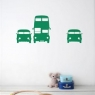 Ferm Living Wall Sticker - Rush Hour